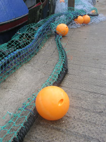 Polperro nets and floats